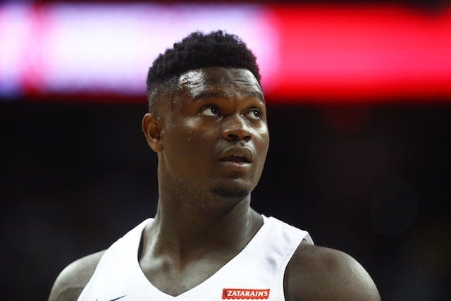 Zion Williamson Wants To Play For Pelicans His Entire Career