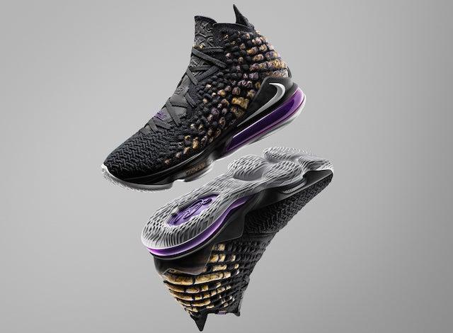 Nike LeBron 17 \u0027Lakers\u0027 Colorway Release Date Details