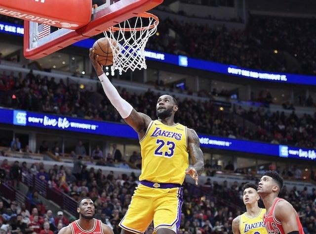Lebron James Hopes To Represent Lakers At 2020 Nba All Star