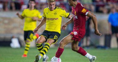 Borussa Dortmund at Liverpool