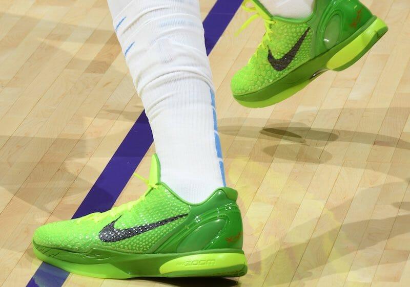 Lakers News: Anthony Davis Calls Nike Kobe 6 Grinch Best Christmas ...